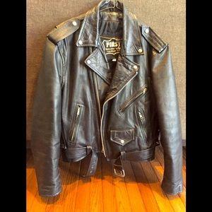 Vintage First Genuine Leather Jacket